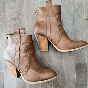 JustFab Ankle Booties